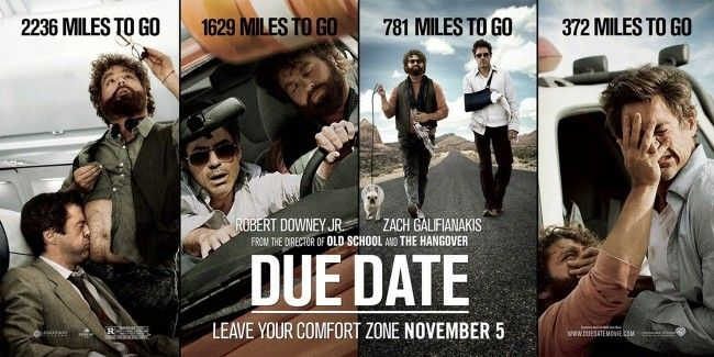 Movie Review: Due Date, Oh How You Did Me Wrong…