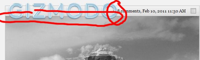 receive updates Gizmodo+ 2011