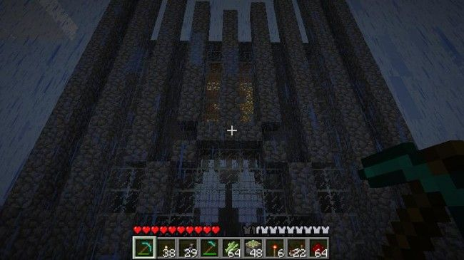 All hail the mighty church of Minecraft!