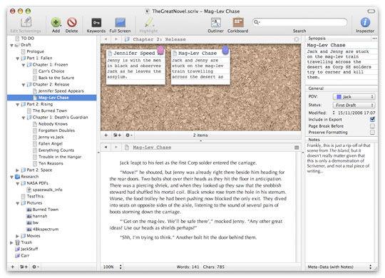 Scrivener-Mac Version Review