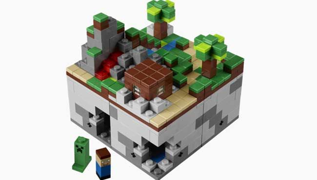 Originally a user-created set, LEGO Minecraft became a real thing this year.