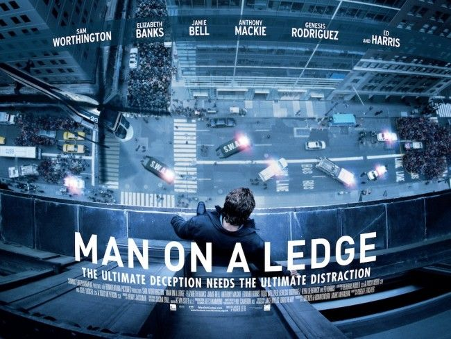 'Man on a Ledge' Review – Just Jump Already