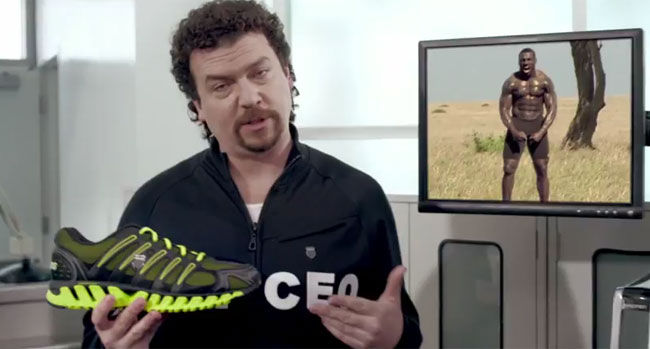 Kenny Powers Introduces Blades from K-Swiss