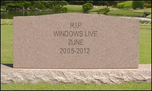 Microsoft Officially Killing Off Windows Live and Zune?