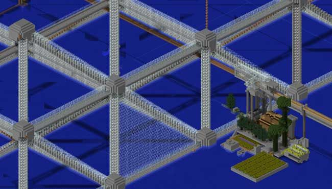 minecraft oceana pyramid week building server verge ongoing megastructure chronicling survival epic built construction series part