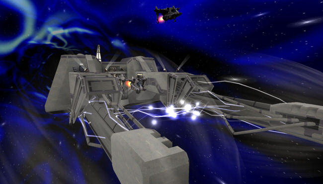HyperBlast2 - Slip Space battle arena map