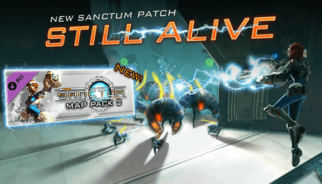 "New DLC Hits ""Sanctum"" On Steam"
