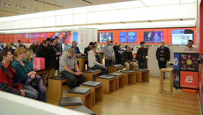 Near a Microsoft Store? Check for one of these events. Photo credit: Consumer Camp