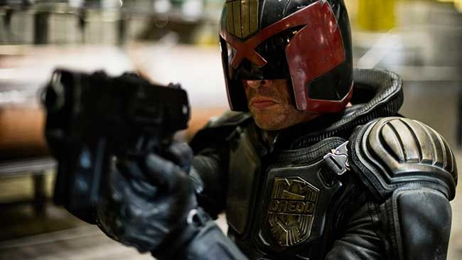 Don't go away, Dredd!