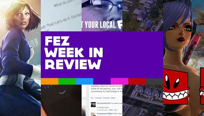 FEZ Week In Review #12, 2013: BioShock Infinite, SimCity And EA