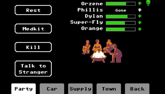 Organ Trail Screen 2