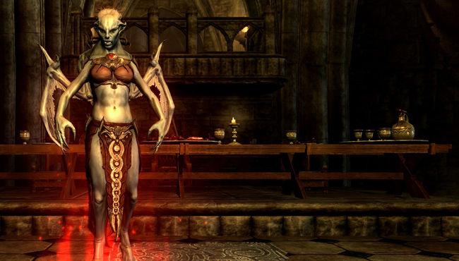 Skyrim Dawnguard DLC Screen
