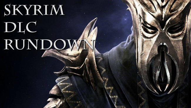 Skyrim DLC Rundown HEADER