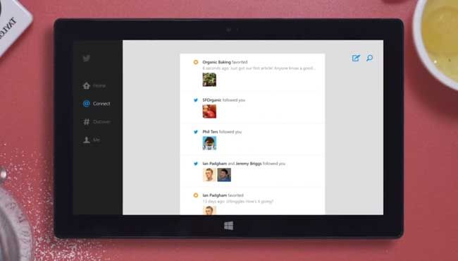 It's Twitter, but for your Windows 8.