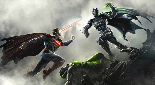 Batman + Kryptonite = Superman gets pwnt?