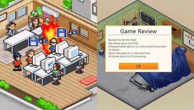 Game Dev Story (1997) v. Game Dev Tycoon (2013)
