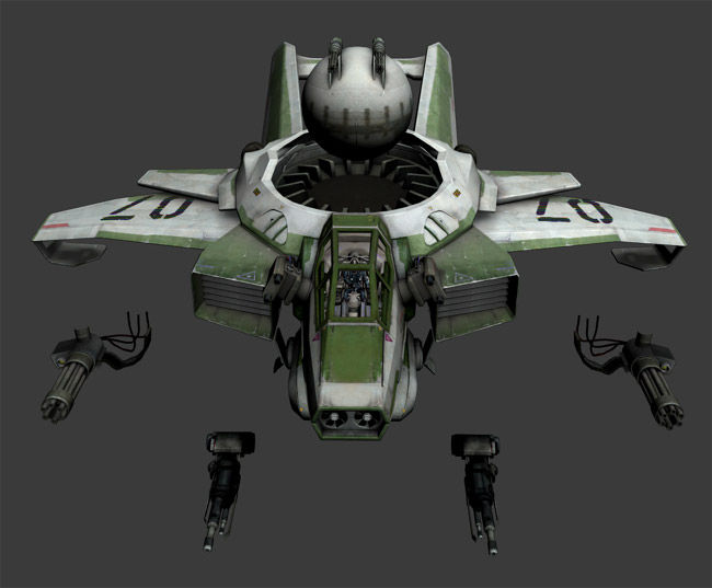 Some weapon ideas for the RSI hornet.
