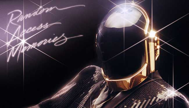 Daft Punk means business.