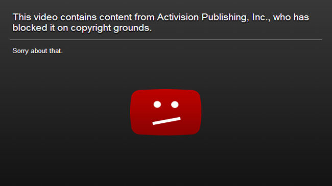 Really, YouTube? Really? I mean, it's not like we have PERMISSION!!
