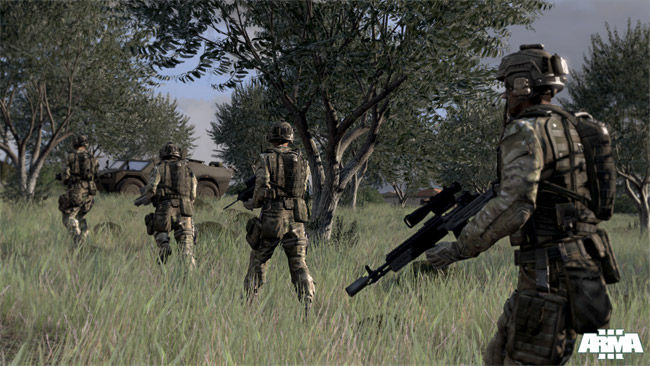'ARMA 3' Beta Update Adds New Vehicles